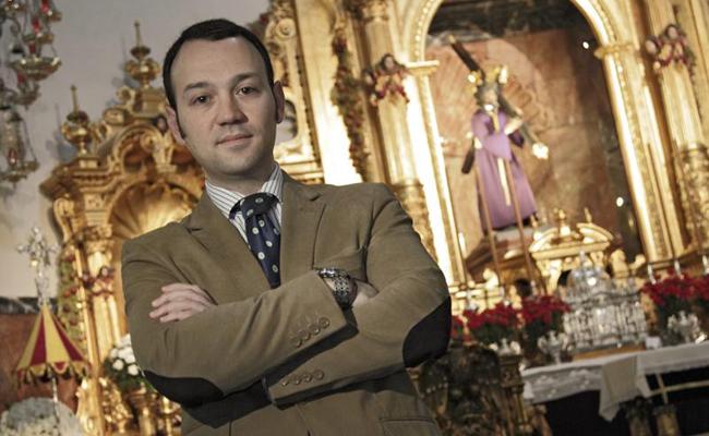 Lorenzo Barea Blanco, responsable de la Bolsa de Caridad del Gran Poder / Foto: Juan Flores