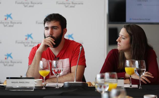 Miguel Ángel Díaz y Judith Molero / Foto: Vanessa Gómez