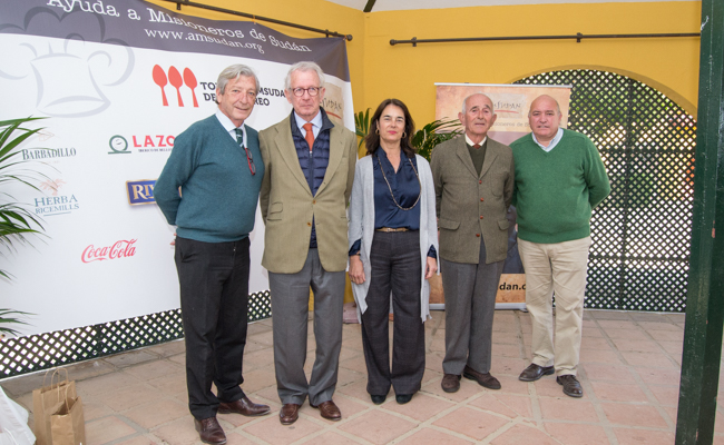 Javier Maza, Juan Orbaneja, Pili Barbadillo, Jorge Parladé y Agustín Muñiz / L.A.