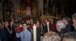 Trasplantados y donantes llevan el Cristo de la Lanzada a su paso