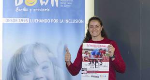 La jugadora de baloncesto Isa Sánchez apoya la IV Corriendown / Down Sevilla