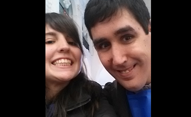 Laura y Juanma se autorretratan en la salida al Rocío