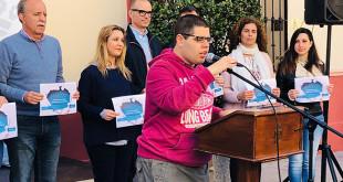 Lectura del manifiesto sobre la Concienciación del Autismo