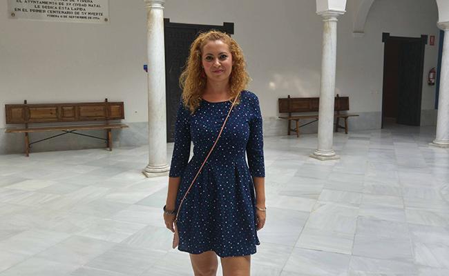 Sandra Gómez es la delegada de Participación Ciudadana en el Ayuntamiento de Utrera