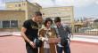 Sevilla y Betis también se vuelcan con La Azotea Azul para los niños hospitalizados