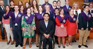 Quince alumnos con discapacidad intelectual hacen historia en la UPO