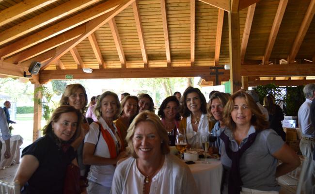 Blanca Andrada, Concha Tejera, María José Baena, Loreto Ortiz, Valle Lasunción, Mariluz Hoces, Pilar Pascual, Sara Flores, Miriam Quintanilla y Cira Vázquez Terry