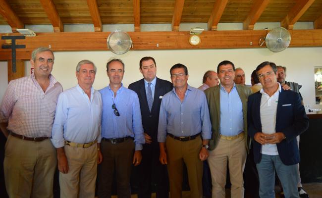 Ignacio Rodríguez de Cepeda, Juan Vicente Jurado, César García Maurici, Ignacio Candau, Rafael Domínguez, Enrique Martín y Jerónimo Cejudo