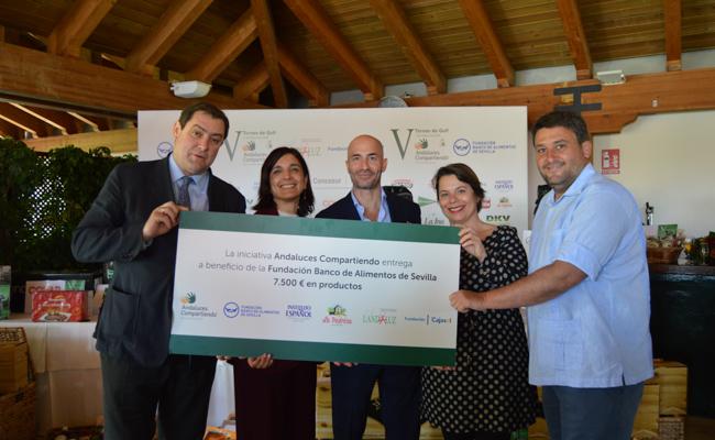 Ignacio Candau, Mercedes Camacho, Álvaro Guillén, Patricia Granados y Santiago Urquijo