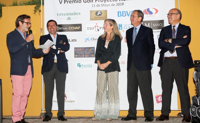 Gonzalo Alba, Enrique Martín, Claudia Hernández, Antonio Fragero y Francisco Herrera