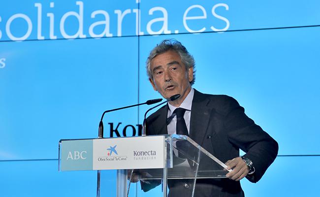 José María Pacheco, presidente de Konecta FOTO: J.M.SERRANO