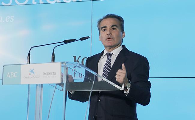 Rafael Herrador, director territorial en Andalucía Occidental. FOTO J.M.SERRANO.