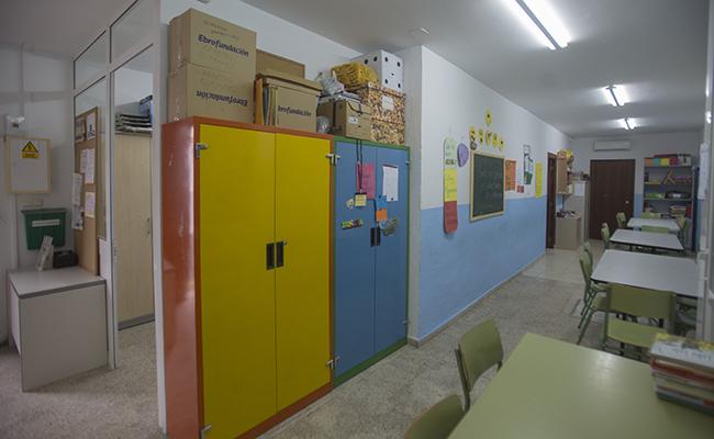 El local cuenta con dos aulas para los niños. FOTO: MJ LOPEZ OLMEDO
