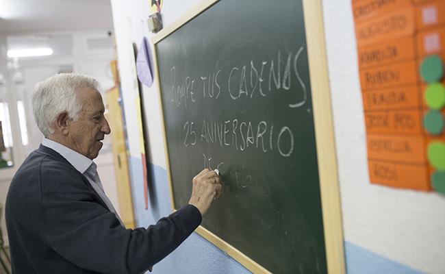 SEVILLA,09.05.18. Fernando de Rojas, 3.Presidente de la Asociacion Rompe tus Cadenas; Francisco Rodriguez. FOTO: MJ LOPEZ OLMEDO. archsev