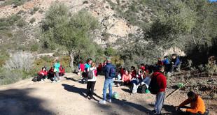 Una de las actividades al aire libre organizadas por el colectivo utrerano