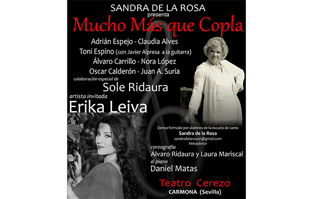 Carmona ayudará con un concierto solidario al pequeño Emilio