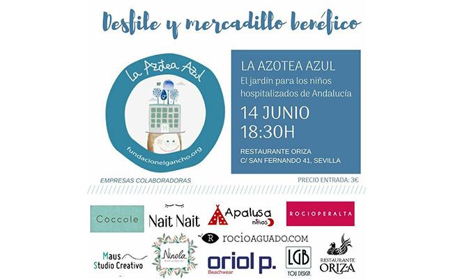 El apoyo a la Azotea Azul continúa este jueves con desfile y mercadillo en Oriza