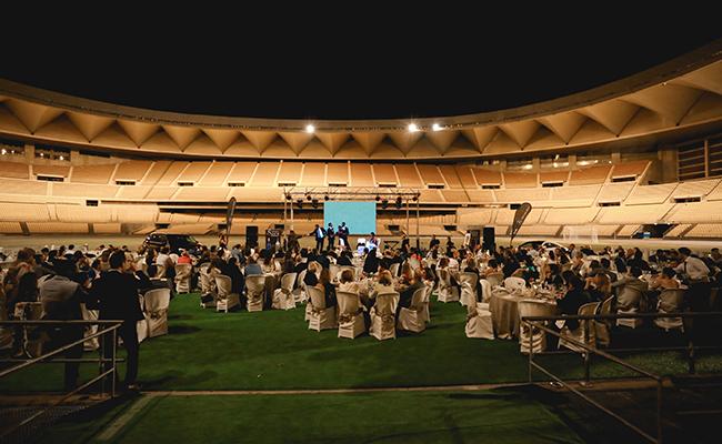 La primera edición se celebró en el Estadio Olímpico de Sevilla