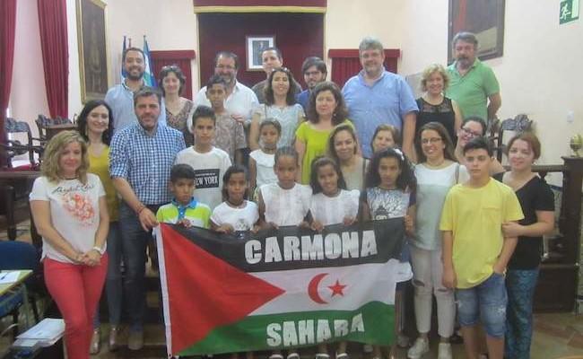 niños saharuis carmona