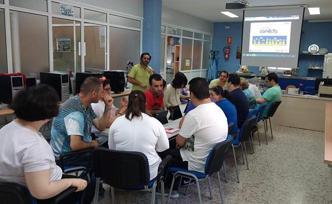 La asociación de personas con discapacidad Apdis trabaja en Utrera desde hace más de una década