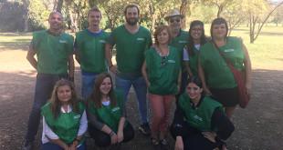 Grupo de voluntarios de Dace en Sevilla