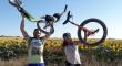 De Cádiz a Galicia en patinete para luchar contra el cáncer infantil