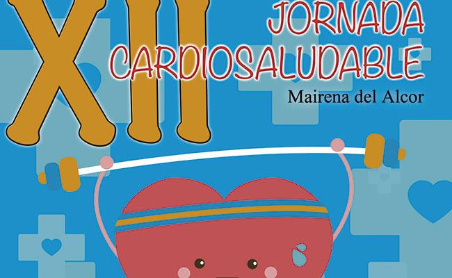 Cartel de la jornada cardiosaludable en Mairena