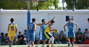 Durante toda la jornada el entorno de Consolación se llenará de partidos de baloncesto