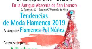 Desfile de moda flamenca a beneficio del Centro de Estimulación Precoz Cristo del Buen Fin