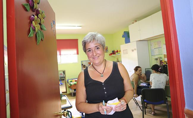 SEVILLA. 05/09/18. Entrevista a Auxi Sánchez, directora de la Asociación Alcalareña de Educación Especial. Alcalá de Guadaira. FOTOS ROCIO RUZ. ARCHSEV