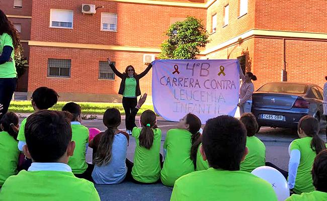 Pequeños corredores solidarios en Utrera