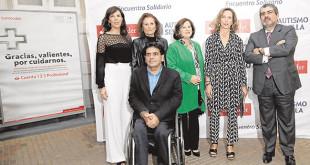 María Ángeles Maisanaba, María Ángeles Fernández, Gonzalo Rivas, María José Sánchez Rubio, Mercedes Molina y Luis Rodríguez de la Fuente