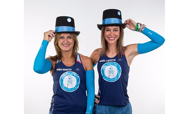 Las sevillanas María Lafitte y Nuria Moroto correrán la Maratón de Nueva York por la Azotea Azul