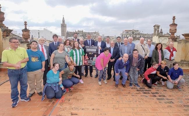 Presentación del derbi solidario / Ayuntamiento de Sevilla