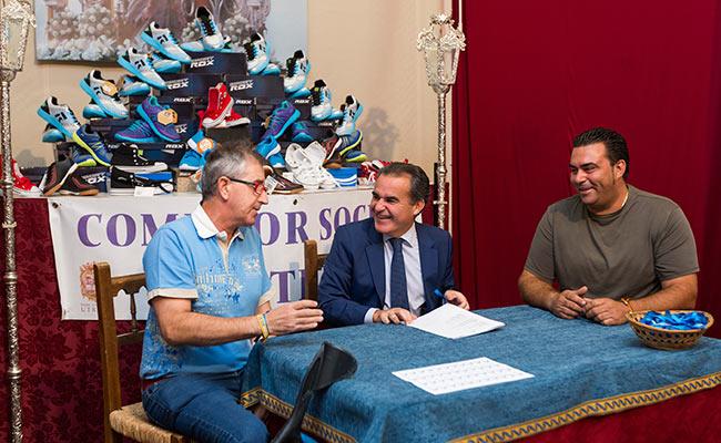 """Campaña Zapatos Nuevos de Obra Social """"la Caixa"""" en Sevilla"""