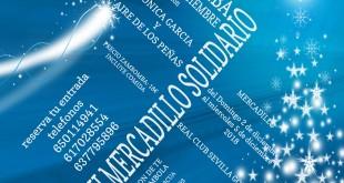 Mercadillo y Zambomba solidaria a beneficio de las familias de Cáritas de Montequinto
