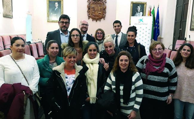 La Obra Social «la Caixa» ayuda a las entidades solidarias de Utrera