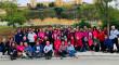 Las Chicas Rosas de la Unidad Oncológica del Valme de ruta por las riberas del Guadaíra