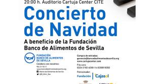 Concierto de Navidad a beneficio del Banco de Alimentos de Sevilla