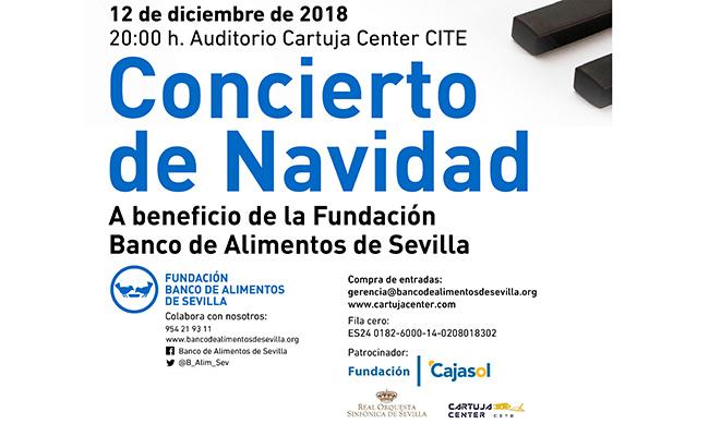 Convierto de Navidad a beneficio del Banco de Alimentos de Sevilla
