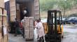 El Hospital San Juan de Dios del Aljarafe envía un segundo contenedor con ayuda humanitaria a África