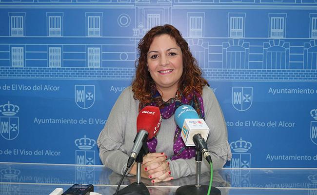 Delegada de Mujer en El Viso del Alcor, Pilar Praena