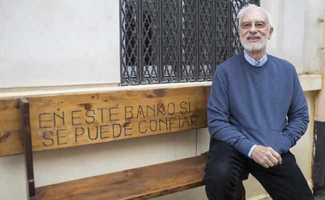 Director de la Asociación de Voluntariado Social y Ecuménico Cristo Vive, Joaquín Moreno. FOTO: MJ López Olmedo