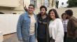 Taburete se reúne con chicos con cáncer de Andex en el Colegio Mayor Alborán