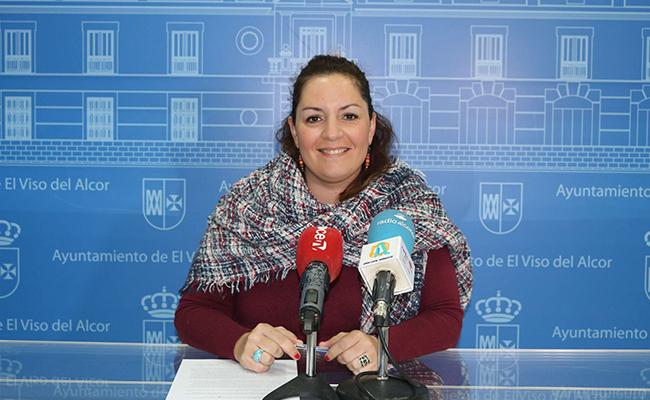 La delegada de Mujer y Servicios Sociales Pilar Praena