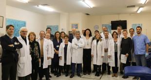 El equipo directivo del Hospital Universitario Virgen del Rocío se suma a la campaña de donación de sangre
