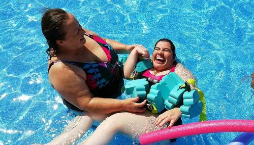 La piscina es una de las actividades más repetidas