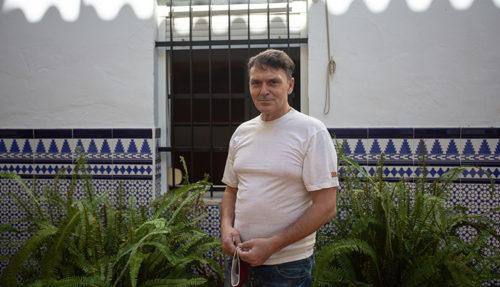 Pablo es uno de los acogidos sin hogar en el Centro Miguel Mañara