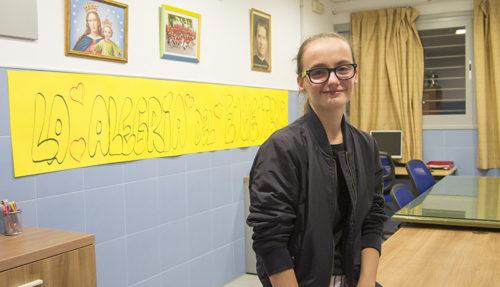 Marta Povea, voluntaria de la Fundación Don Bosco